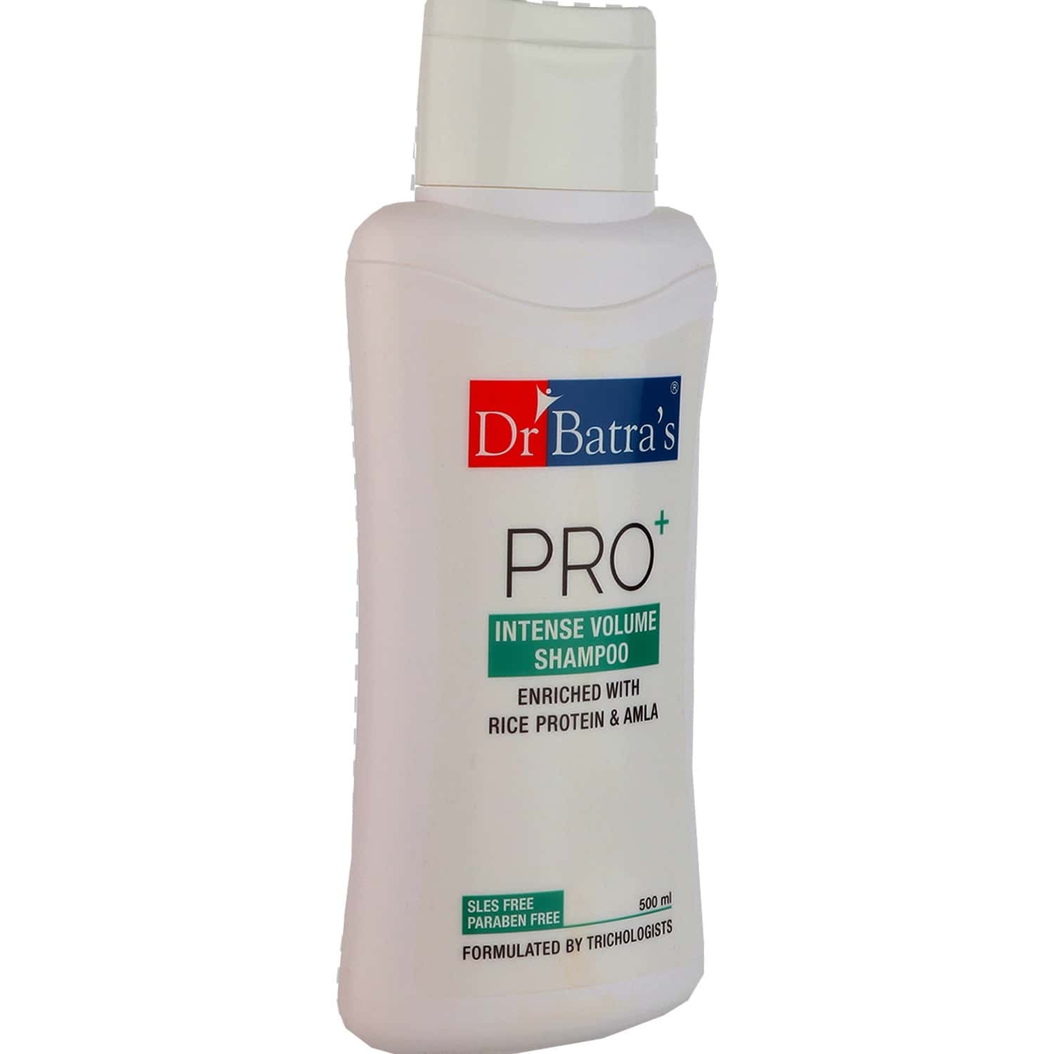 Dr Batra's Pro+ Intense Volume Shampoo Enriched With Rice Protein & Amla - 500 Ml