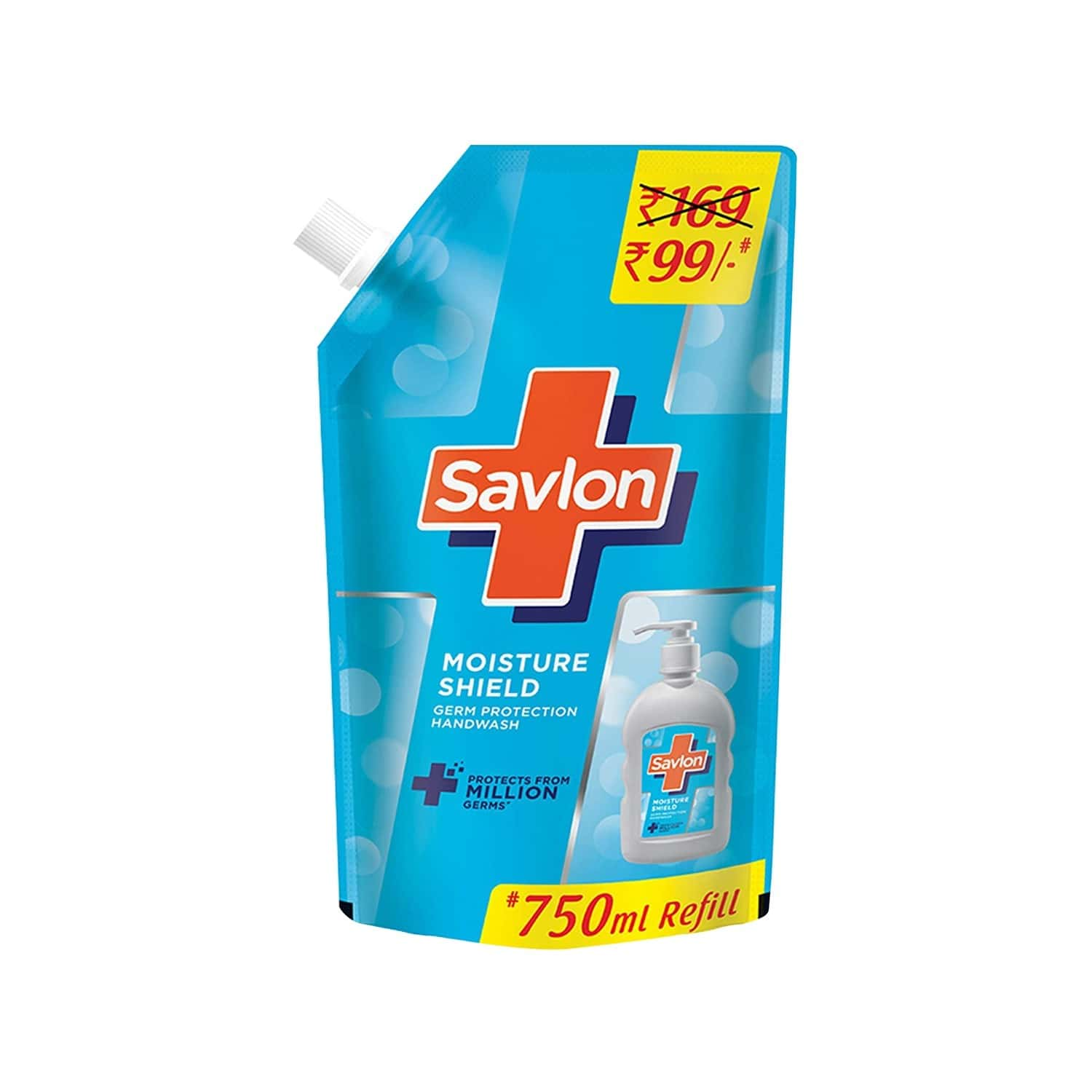 Savlon Moisture Shield Handwash Refill Of 750 Ml