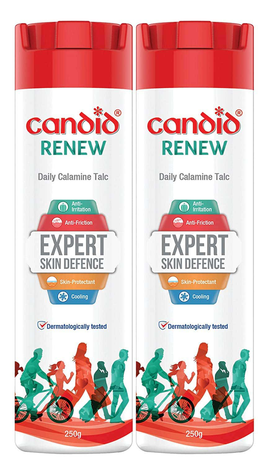 Candid Renew Calamine  Anti Fungal Powder  Bottle Of 500 G (pack Of 2 X 250g)