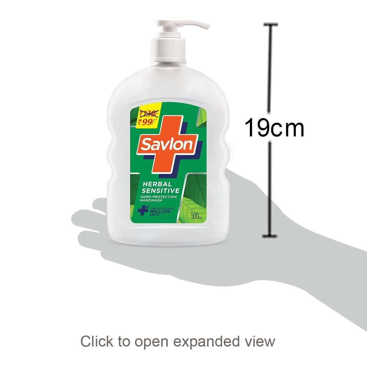 Savlon Herbal Sensitive  Handwash  Bottle Of 500 Ml
