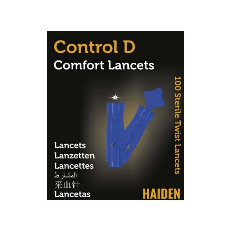 Control D - 100 Lancets