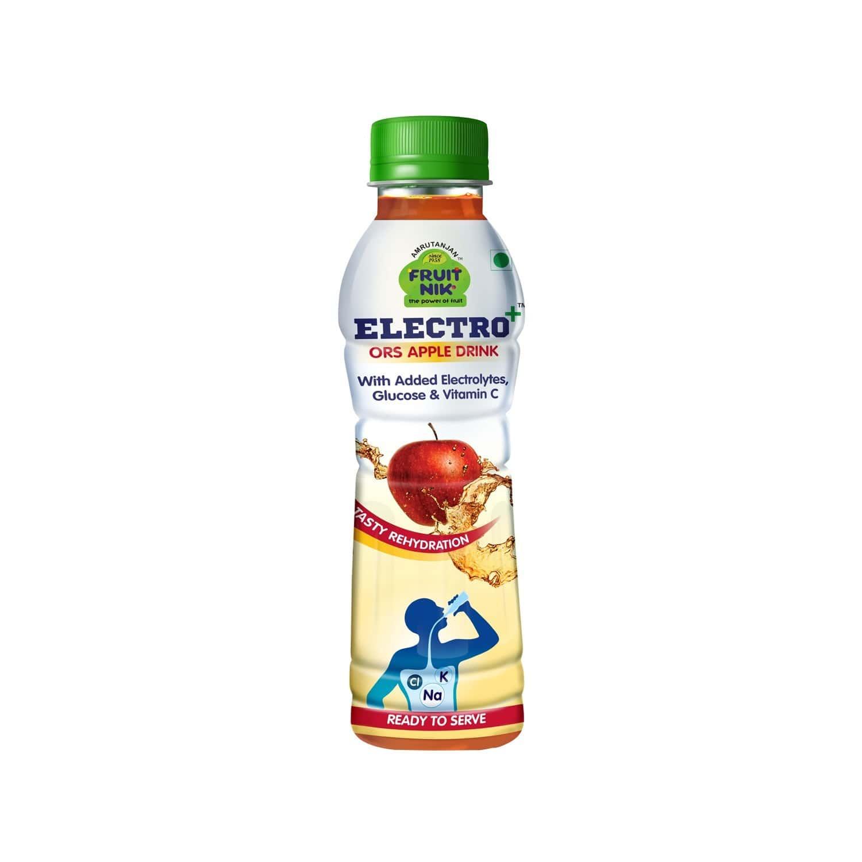 Amrutanjan Electro Plus Ors Apple Health Drink Bottle Of 200 Ml