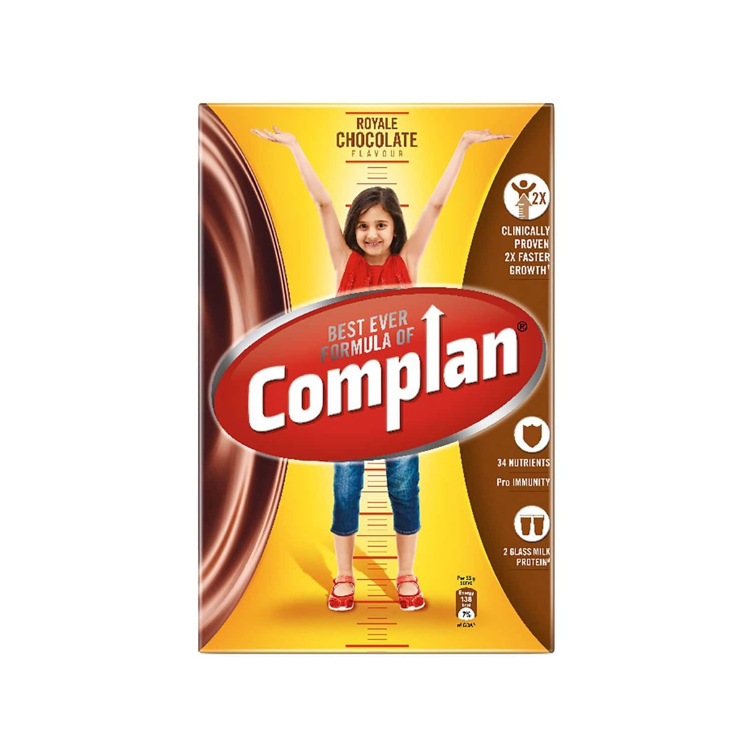 Complan Royale Chocolate Nutrition Drink Box Of 500 G