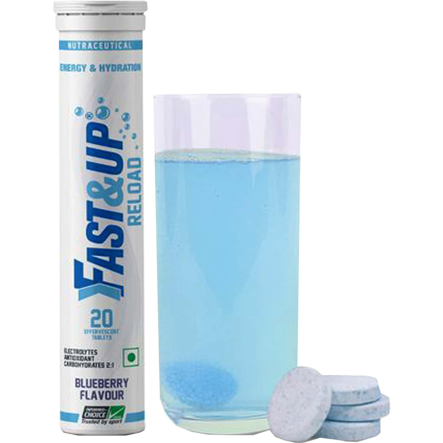 Fast And Up Reload Berry Flavour Tablet 20