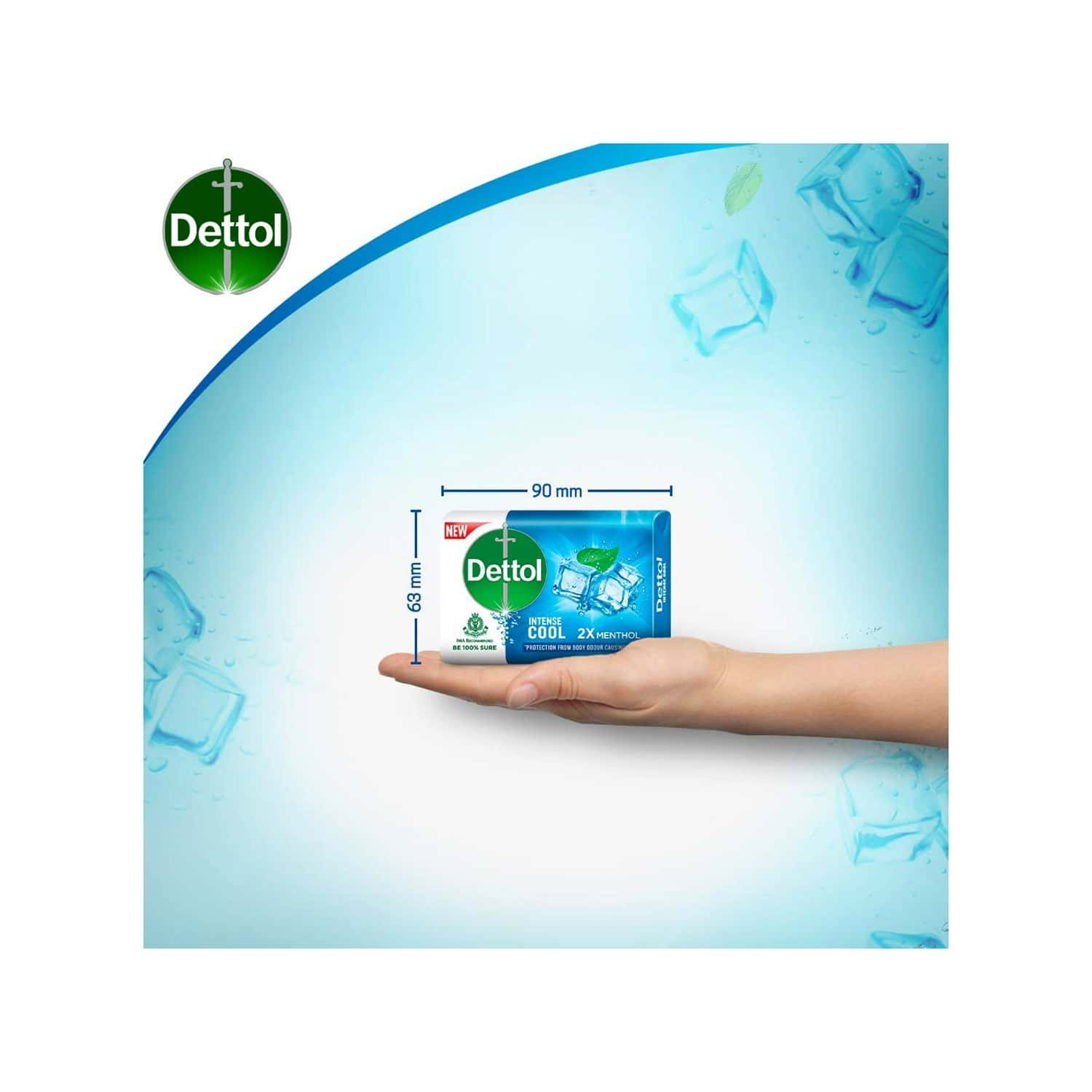 Dettol Cool  Soap (buy 4 Get 1 Free) Wrap Of 625 G