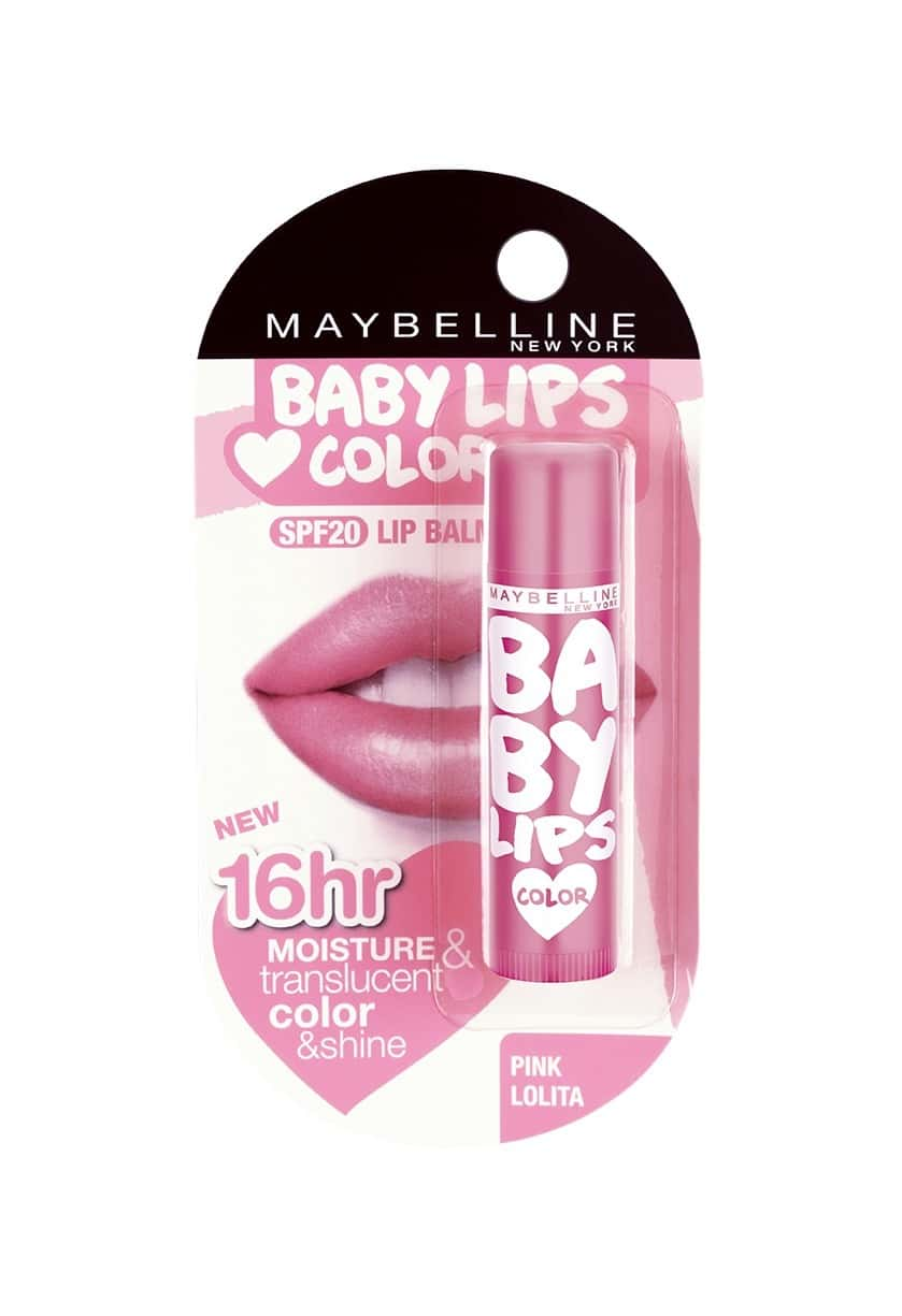 Maybelline New York Baby Lips Lip Balm Pink Lolita Tube Of 4 G