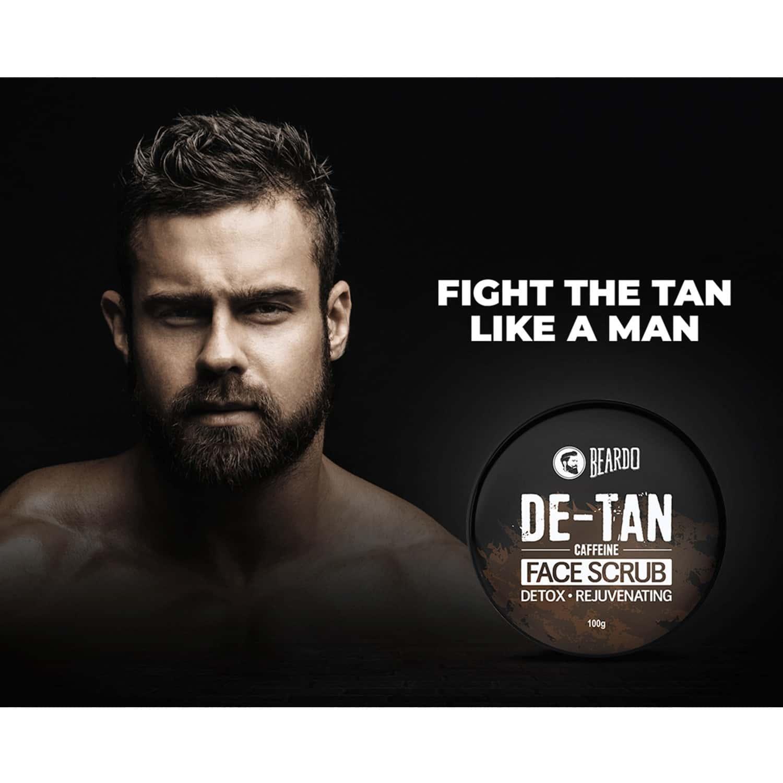 Beardo De-tan Face Scrub - 100 Gm