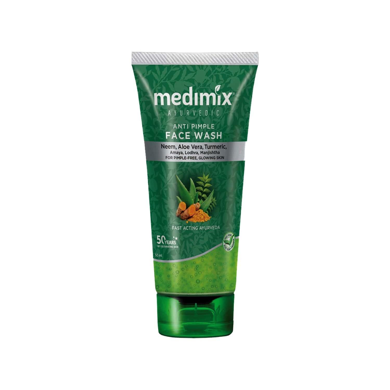 Medimix Ayurvedic Anti Pimple Face Wash - 50ml