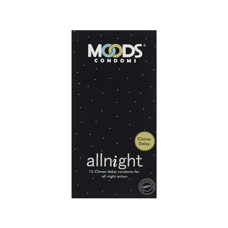 Moods Allnight Box Of 10 Condoms