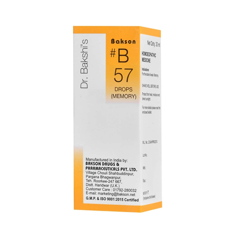 Baksons B57 Memory Drops 30 Ml