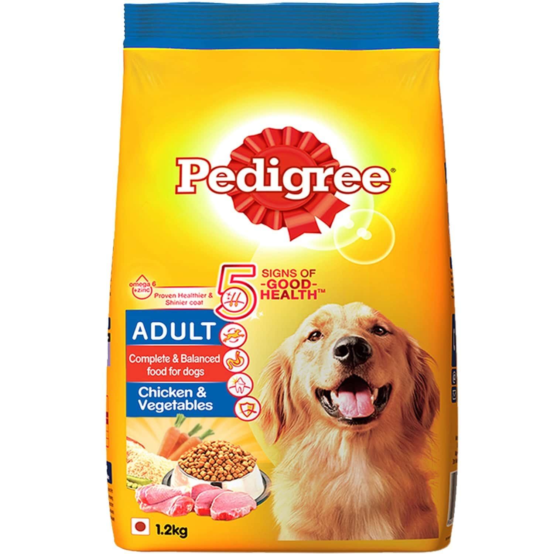 Pedigree Dog Food Adult Chicken & Veg 1.2 Kg