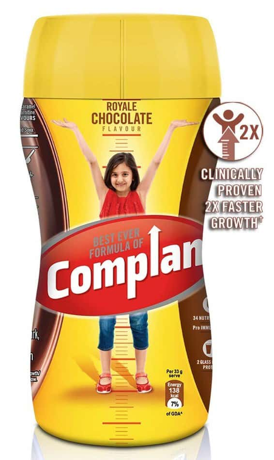 Complan Royale Chocolate Nutrition Drink Jar Of 450 G