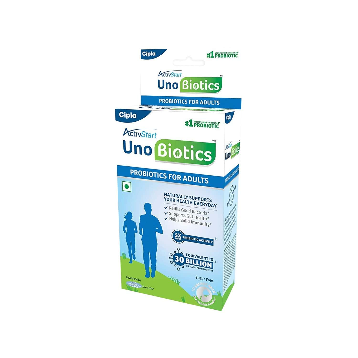 Activstart Unobiotics Health Food (pack Of 10) Sachet Of 10 G