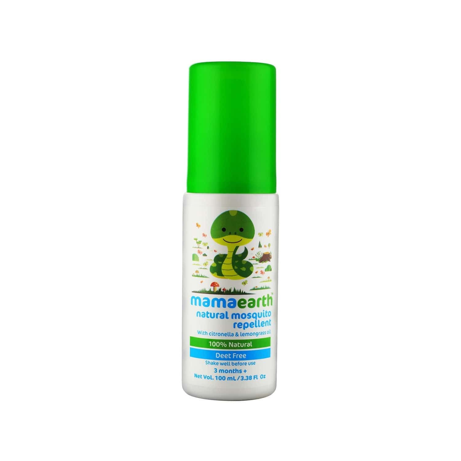 Mamaearth Natural  Mosquito Repellent For 3months+ Babies  Tube Of 100 Ml