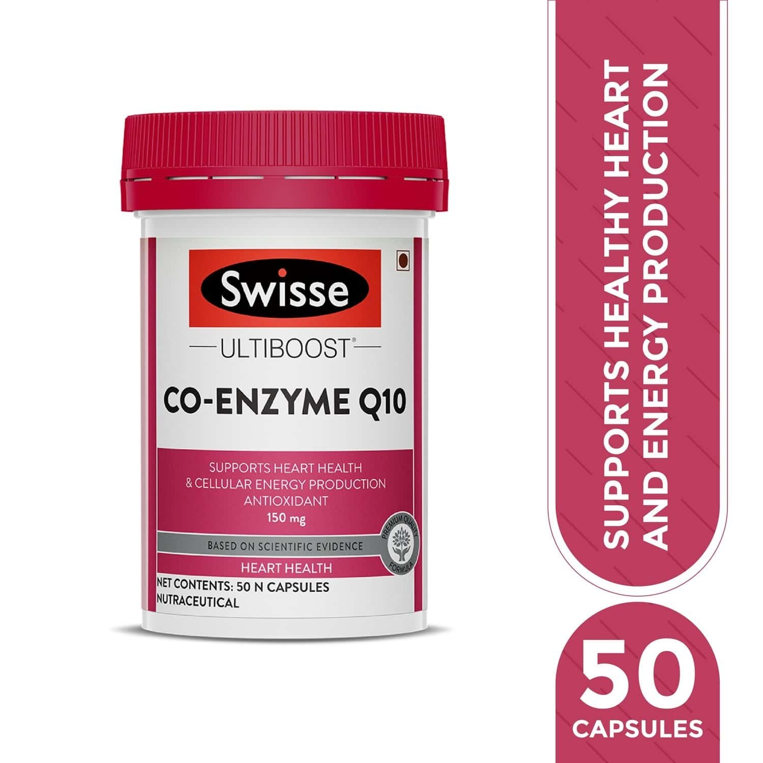 Swisse Ub Co Enzymeq10 150mg Cardiovascular Health Capsules Bottle Of 50
