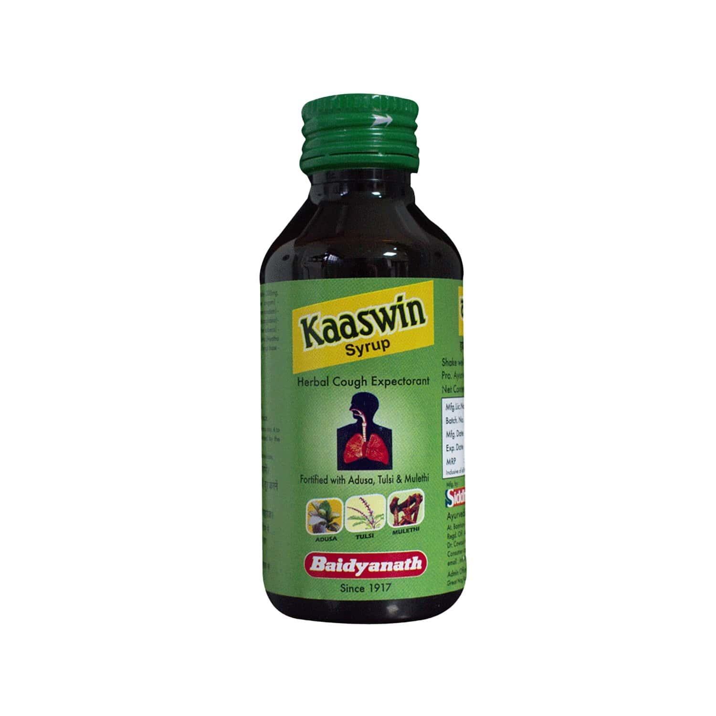 Baidyanath Kaaswin Herbal Cough Syrup 100 Ml