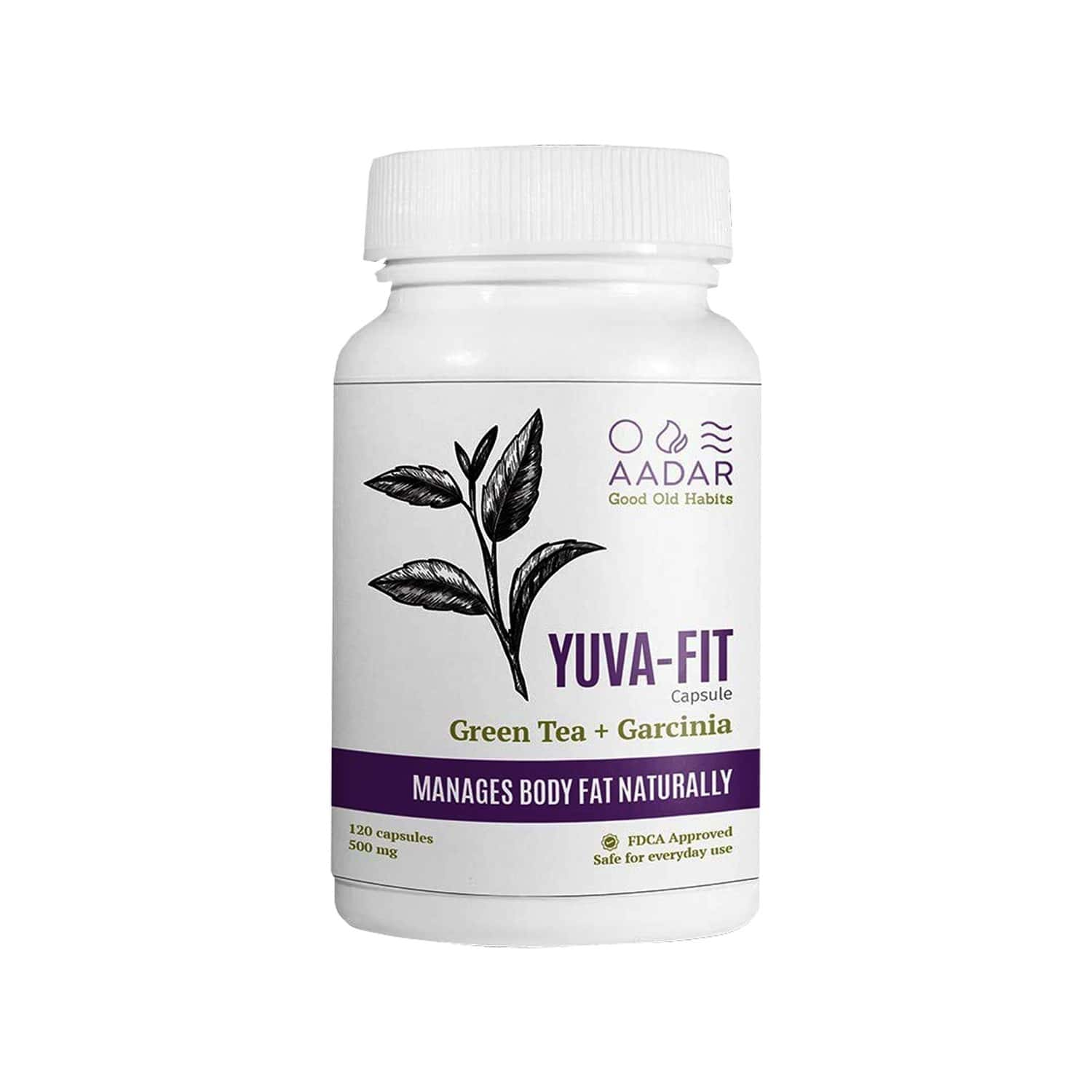 Aadar Yuva Fit Weight Management Capsules Bottle Of 120