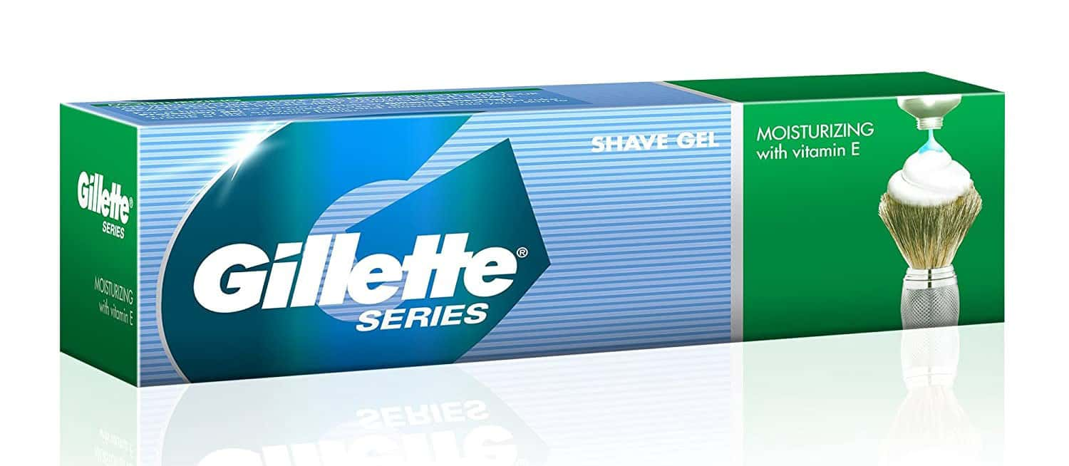 Gillette Moisturising Shaving Cream Tube Of 196 G