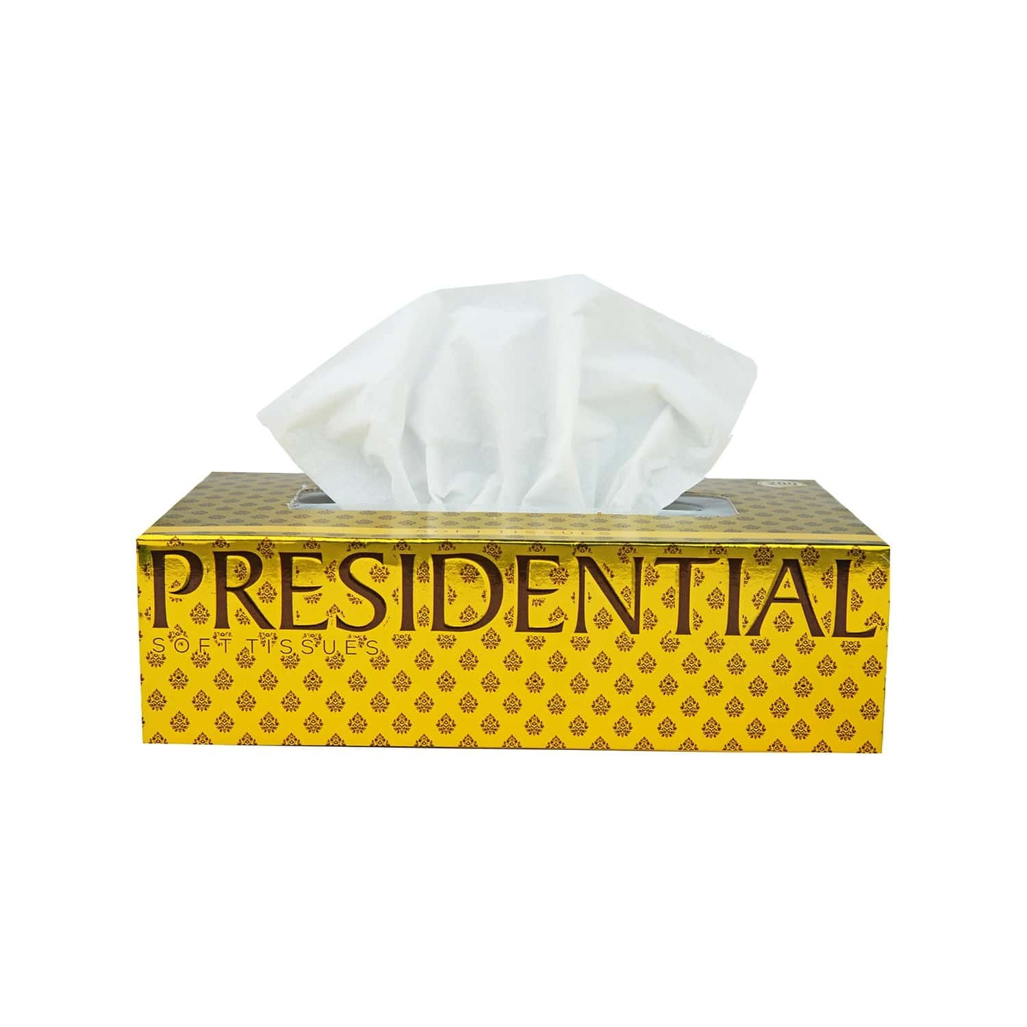 Presidential Lux Tissue Paper Box ( Pack Of 2 ) - 200 Tissues