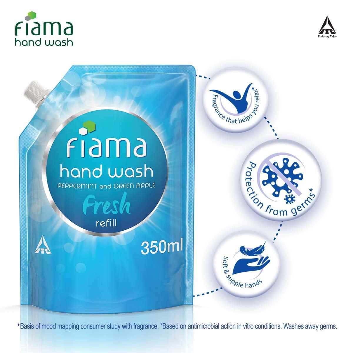 Fiama Fresh Handwash Refill Of 350 Ml