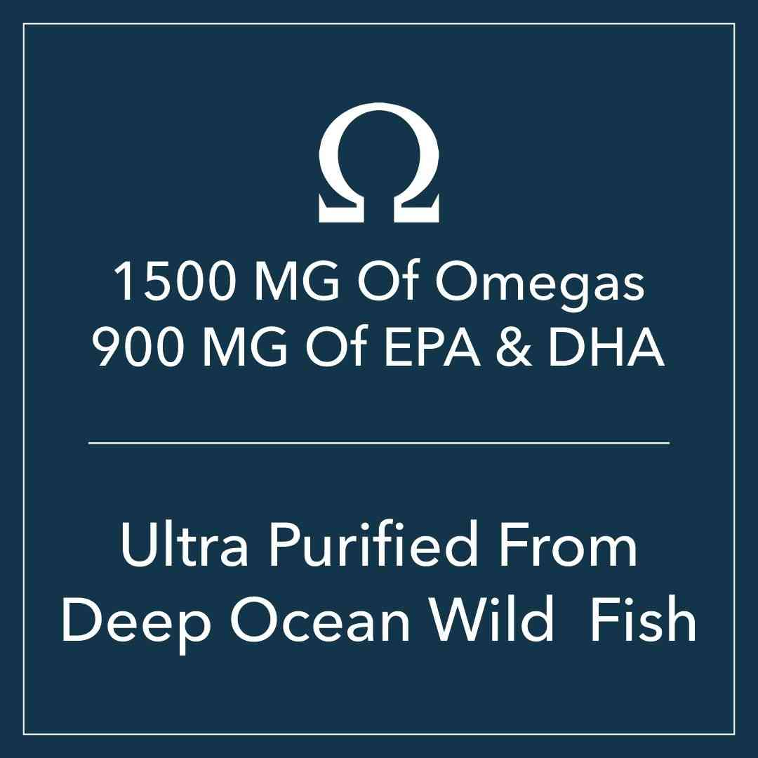 Gnc Triple Strength Fish Oil - 1500mg Fish Oil With 900mg Of Highly Absorbable Epa/dha Omega-3s - 60 Enteric Coated Softgels