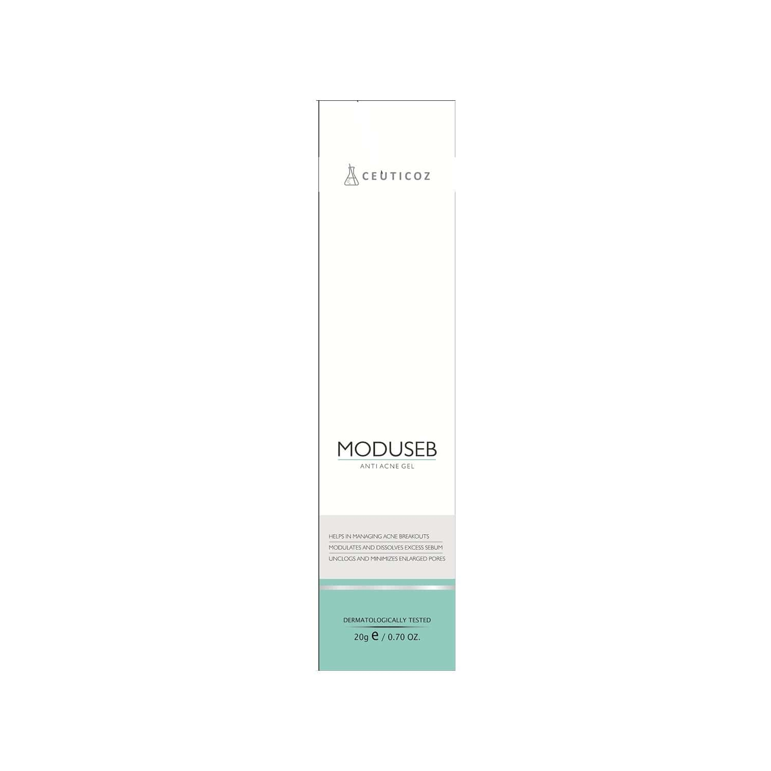 Ceuticoz Moduseb Anti Acne Gel - 20 Gm