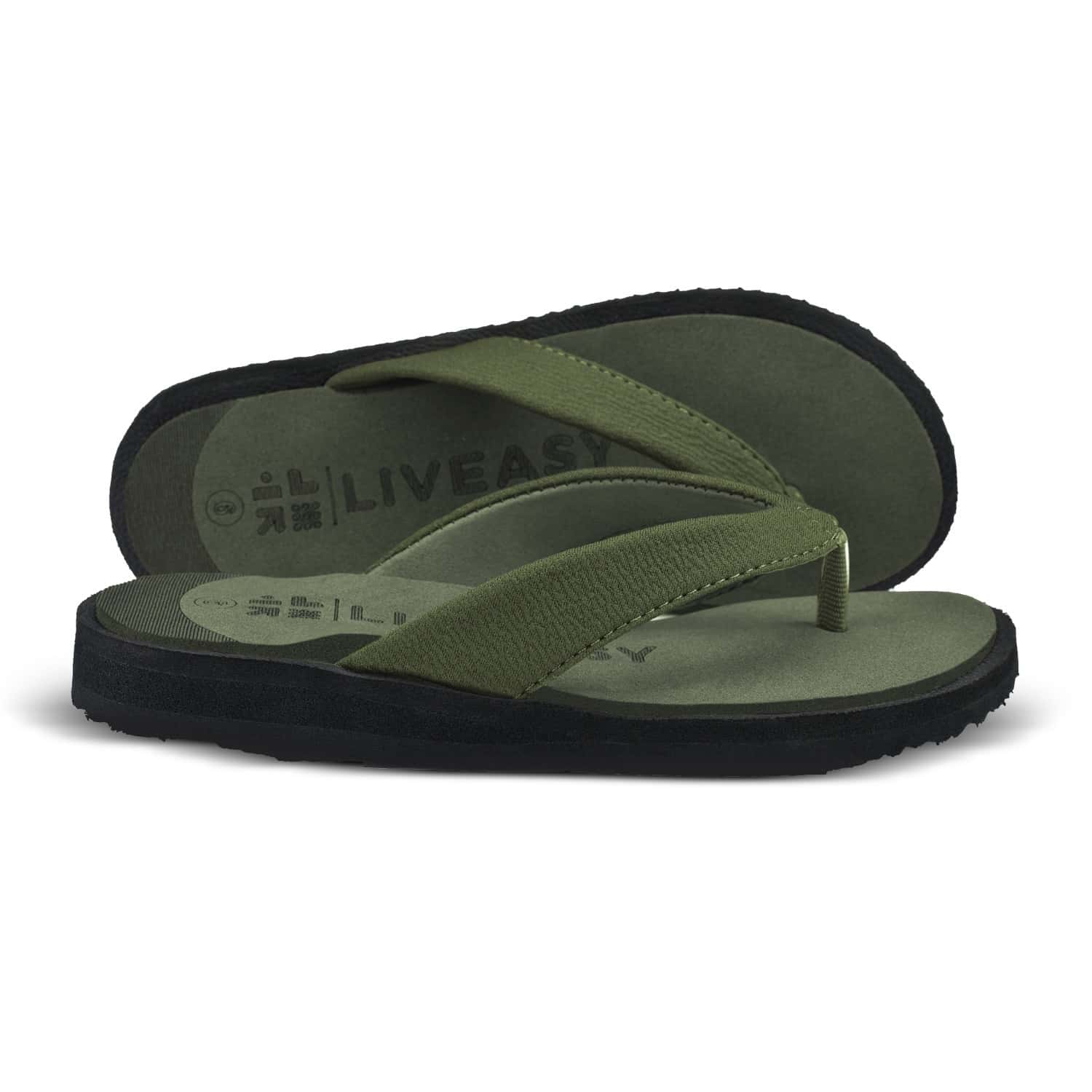 Liveasy Essentials Women's Diabetic & Orthopedic Slippers - Olive Green - Size Uk 5 / Us 8