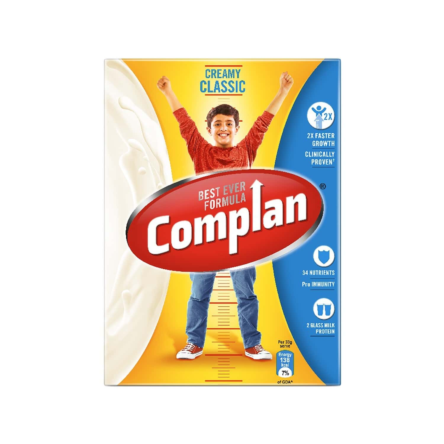 Complan Creamy Classic Nutrition Drink Box Of 200 G