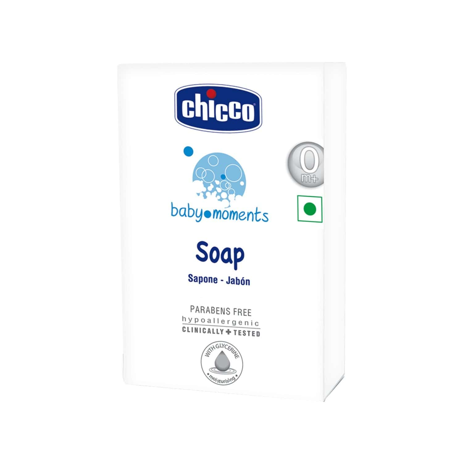 Chicco Baby Moments Soap - 75g