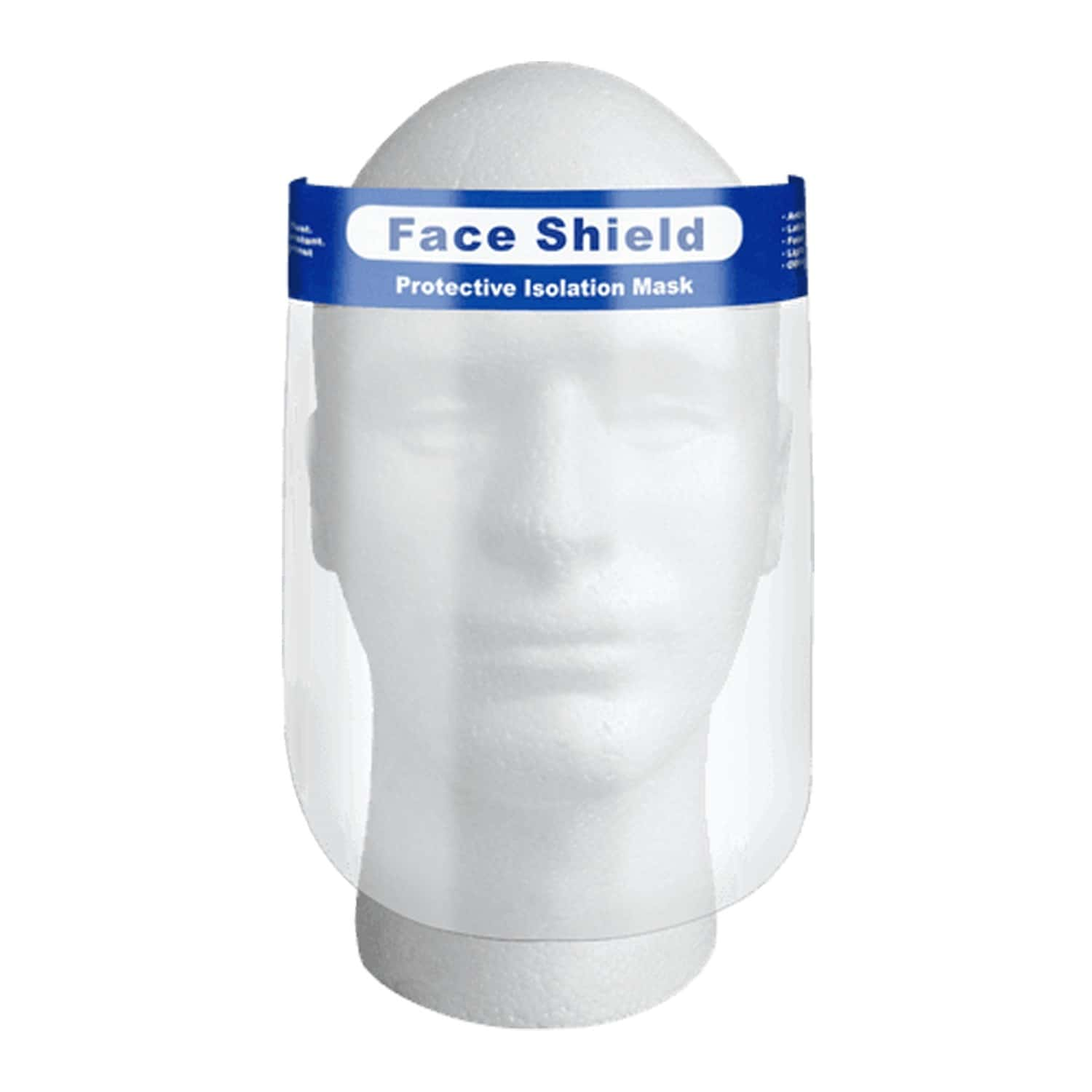Anti Splash Protective Face Shield - Pack Of 5