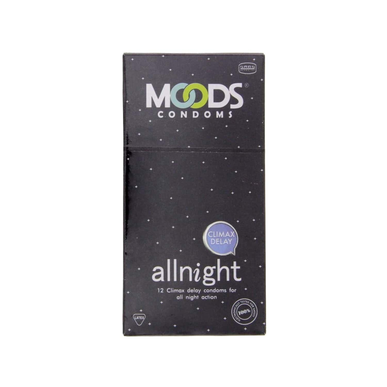 Moods All Night Box Of 12 Condoms
