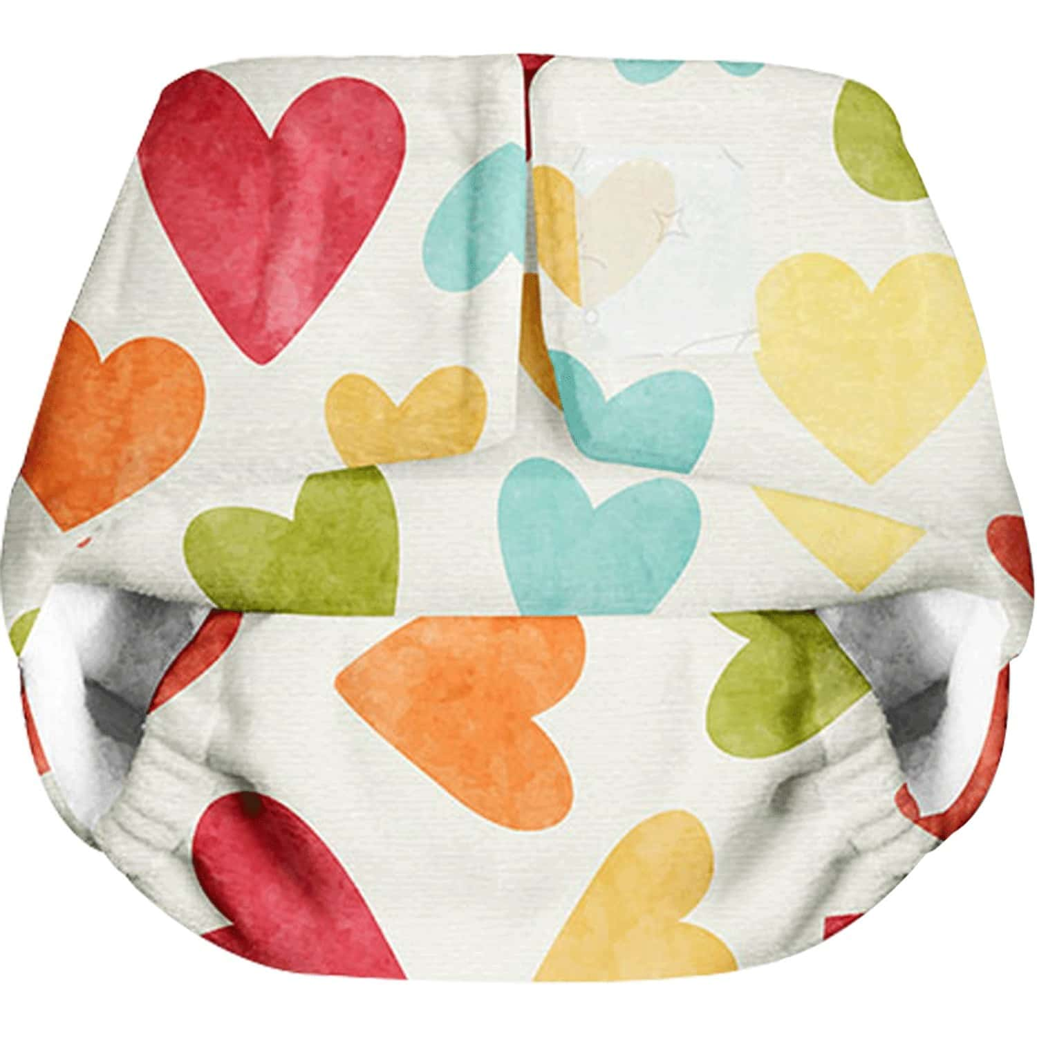 Superbottoms Newborn Uno Reusable Cloth Diaper With Dry Feel Pad 0-6 Months - Baby Hearts