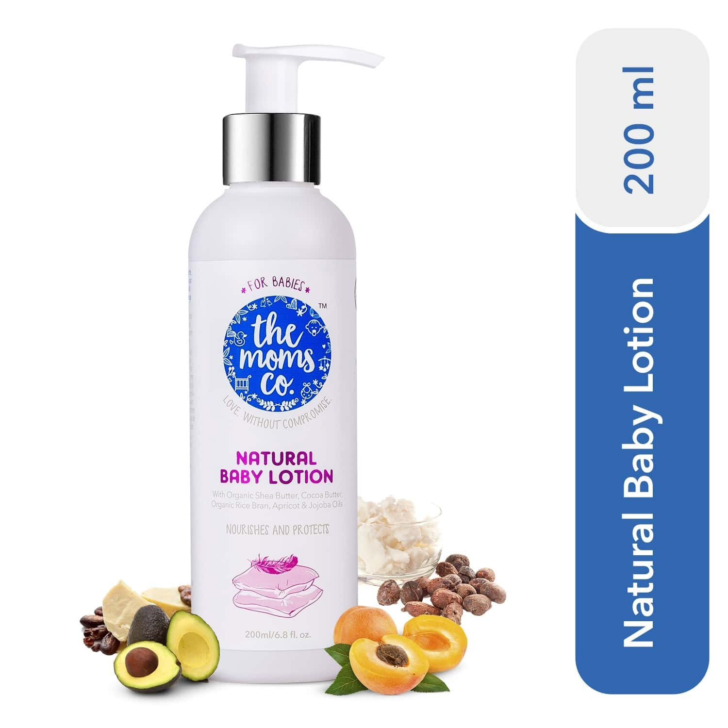 The Moms Co. Natural  Baby Lotion  Bottle Of 200 Ml