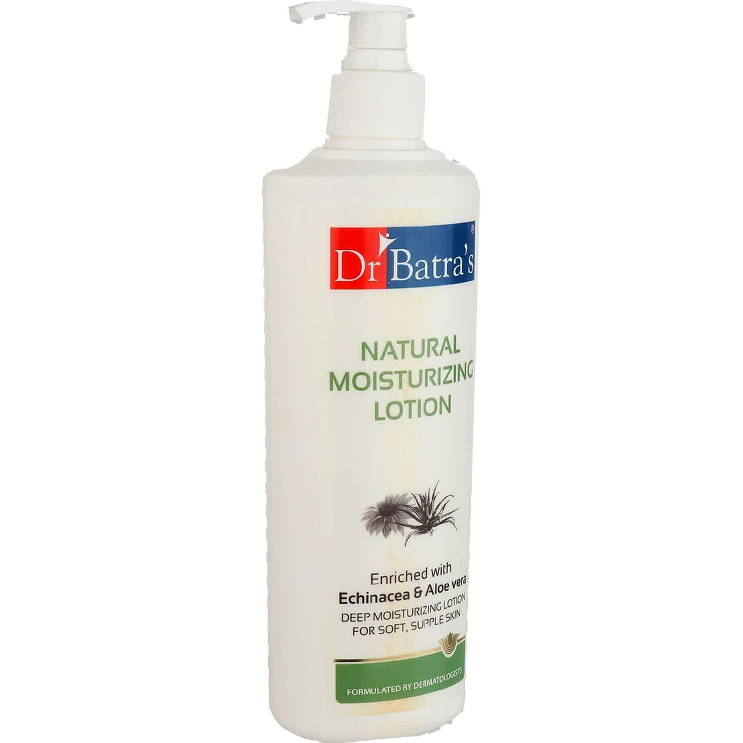 Dr Batra's Natural Moisturizing Lotion Enriched With Echinacea & Aloe Vera - 400 Ml