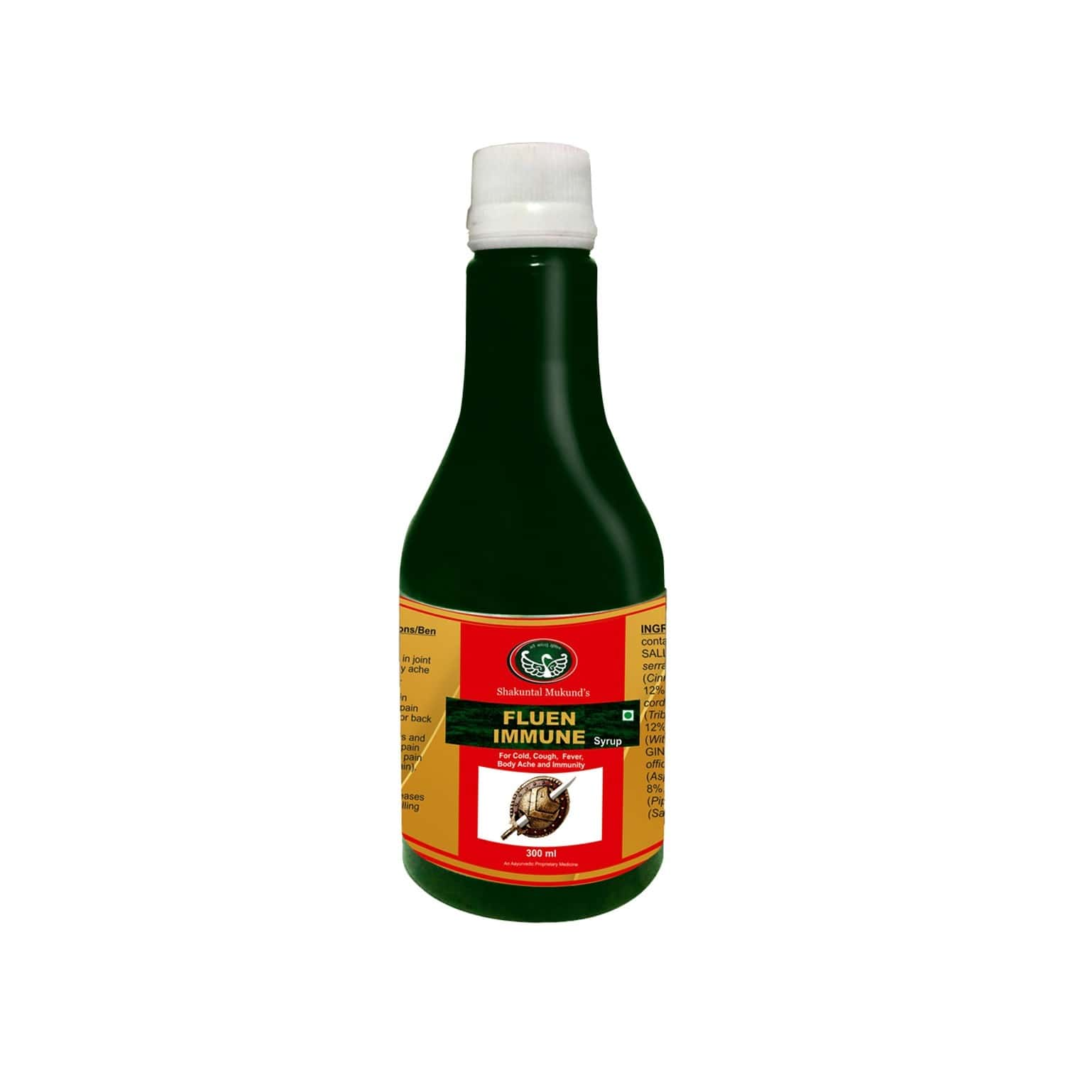 Smw's Fluen Immunity Booster Syrup Bottle Of 300 Ml