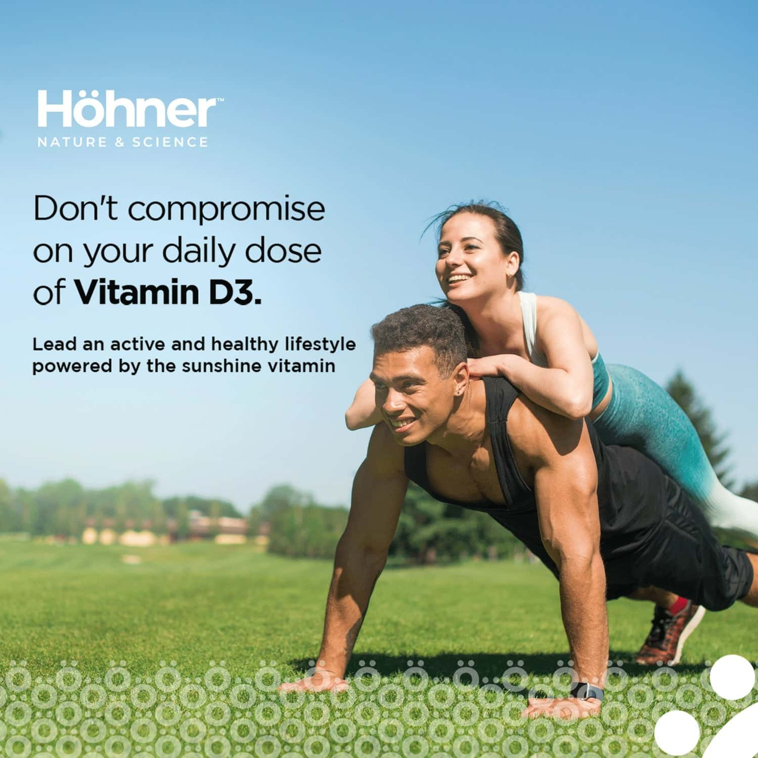 Hohner Vitamin D3 2000iu To Boost Immunity, Strong Bones And Muscles - 60 Capsule