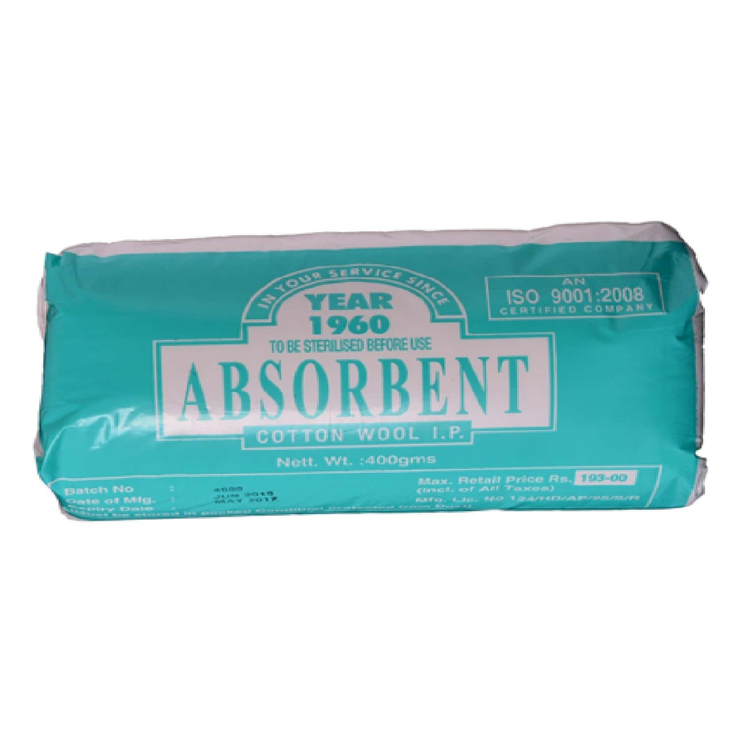 Absorbent Cotton Wool 125 Gm