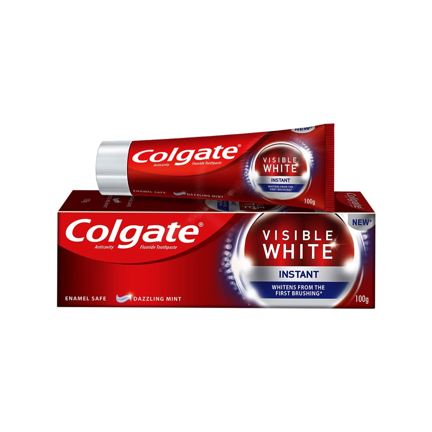 Colgate Visible White Instant Toothpaste - 100gm