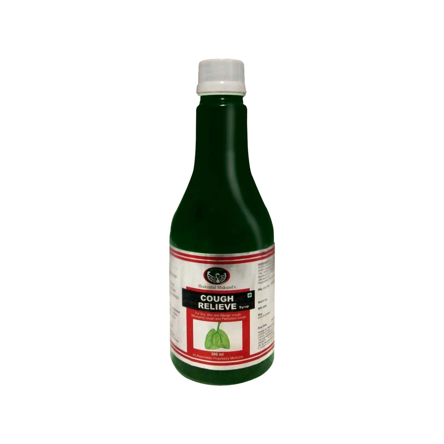 Smw's Coughrelieve Cough Syrup Bottle Of 300 Ml