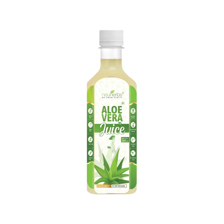 Neuherbs Aloevera Health Juice Bottle Of 350 Ml