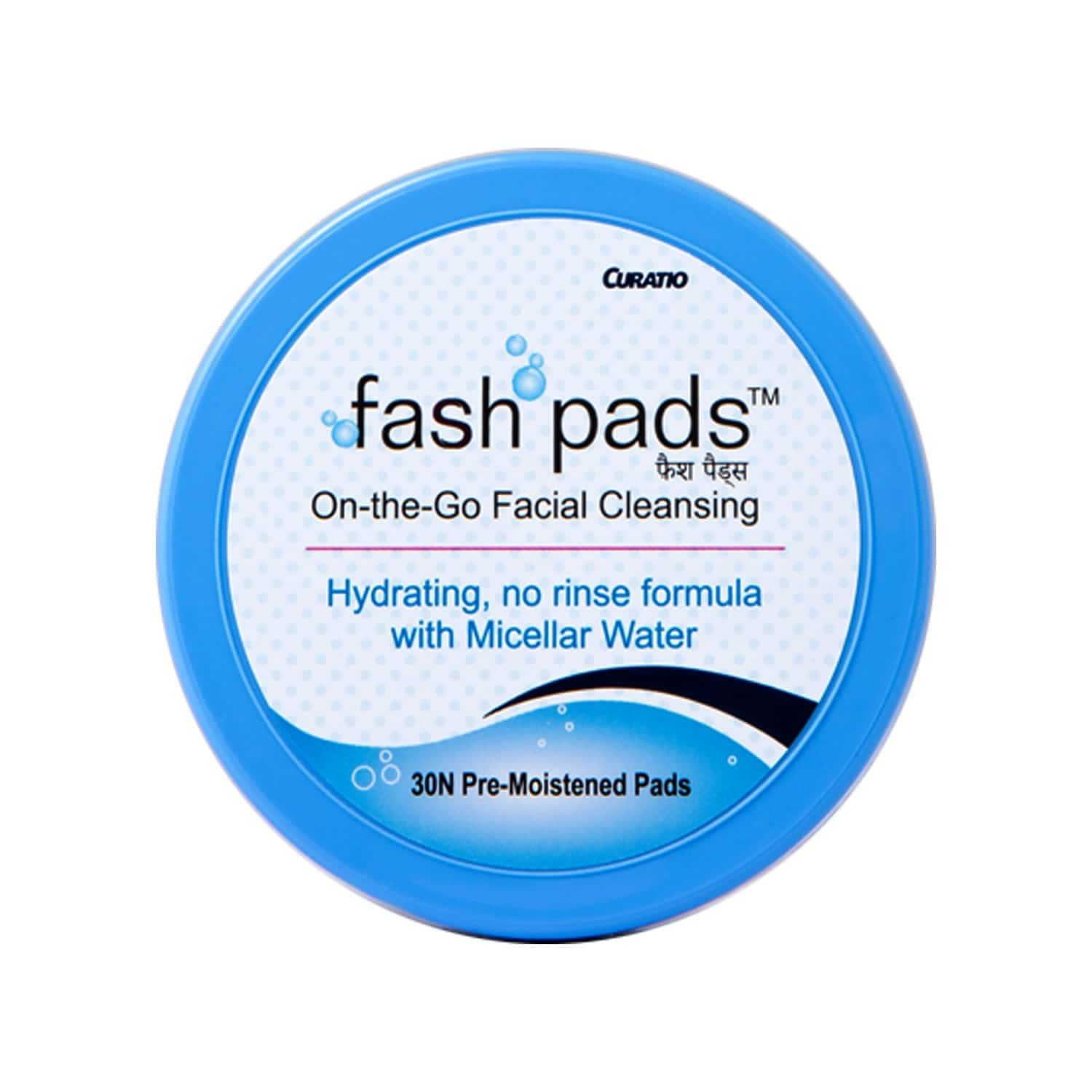 Fash Pads, On - The - Go Facial Cleansing - 30 Pads