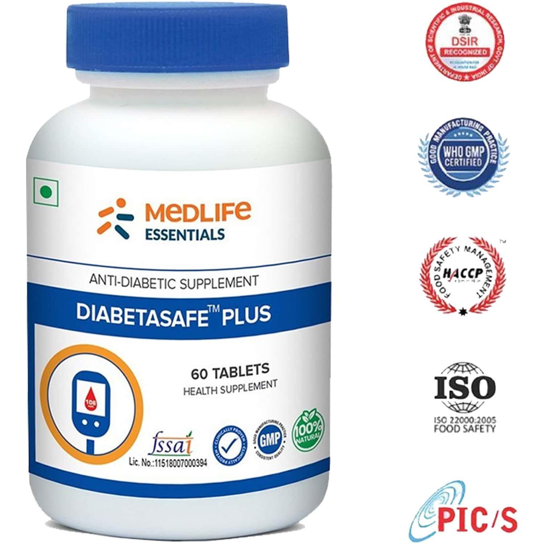 Medlife Essentials Diabetasafe Plus Tablet 60