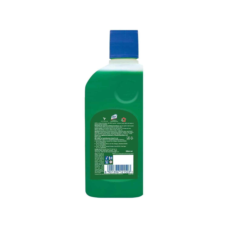 Lizol Jasmine Disinfectant Floor Cleaner Liquid Bottle Of 200 Ml