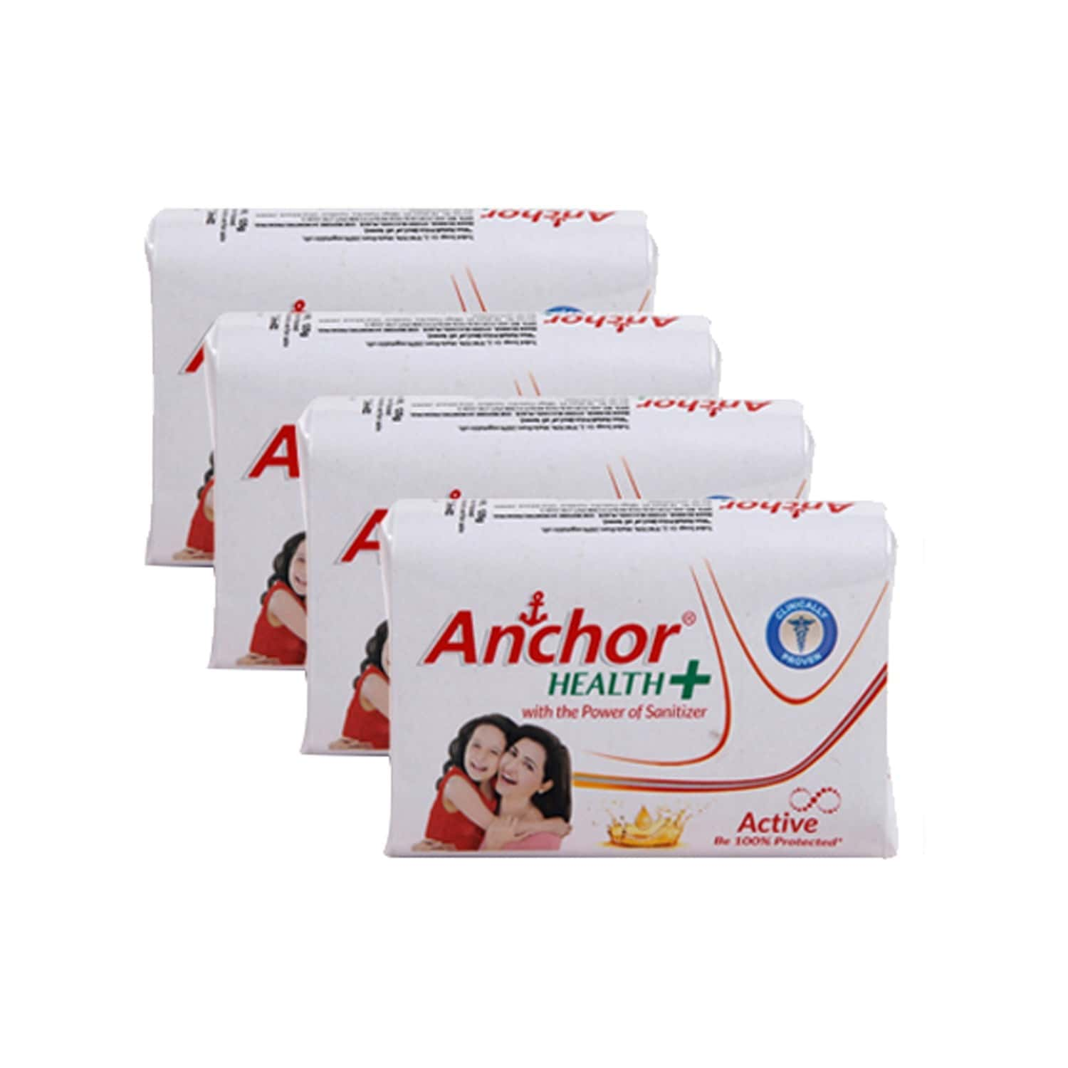 Anchor Active Health Soap Pack Of 500 G