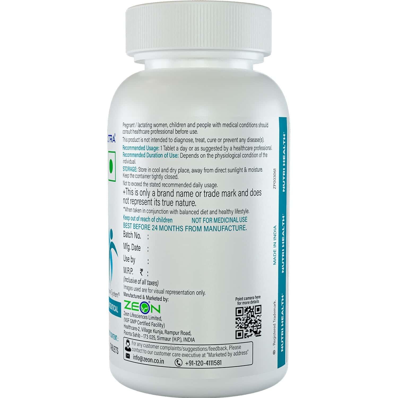 Zeonutra Nutrihealth multivitamin & Multiminerals  60 Tablet Bottle