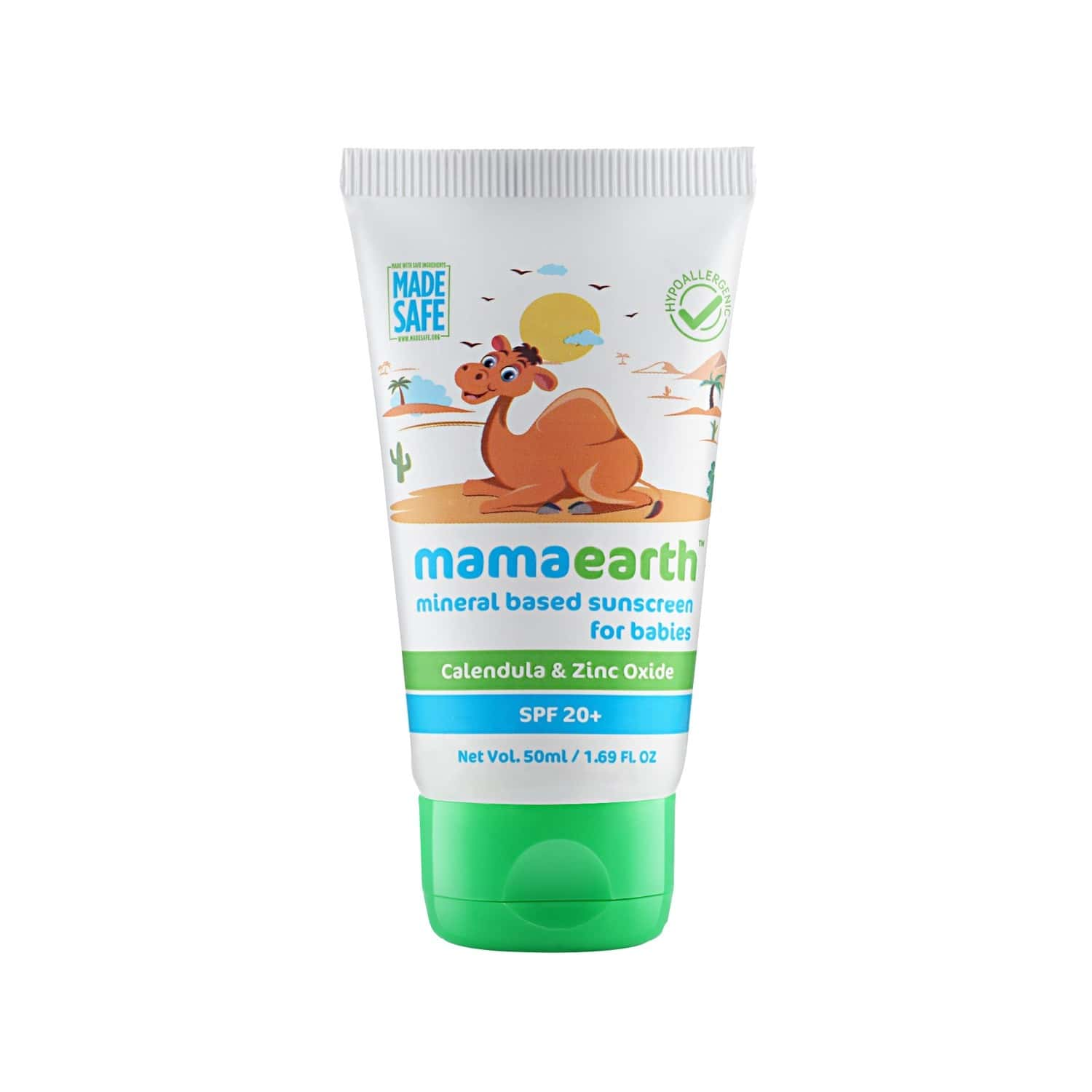 Mamaearth Baby  Sunscreen  Tube Of 50 Ml