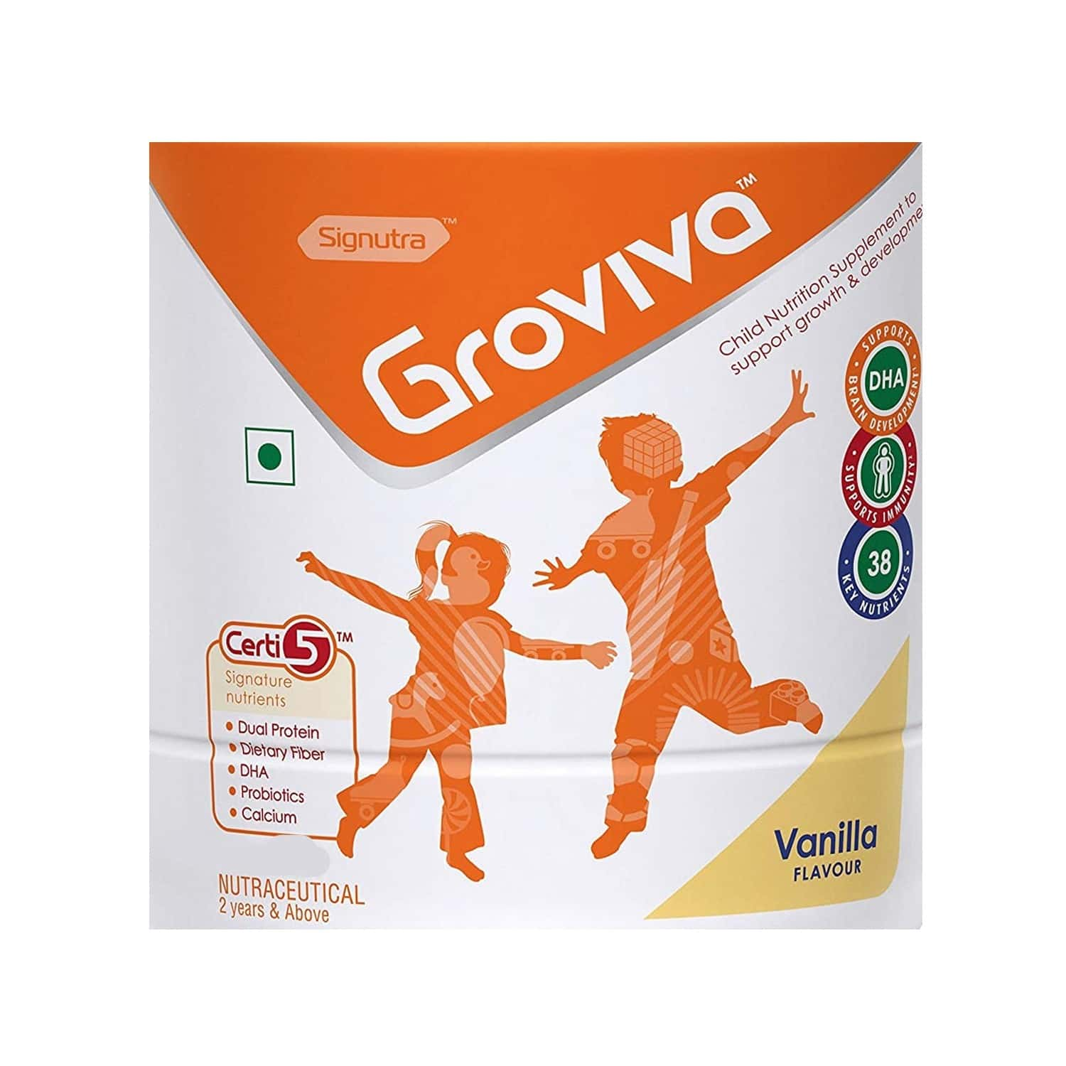 Groviva Vanilla Sachet Of Powder 15 G