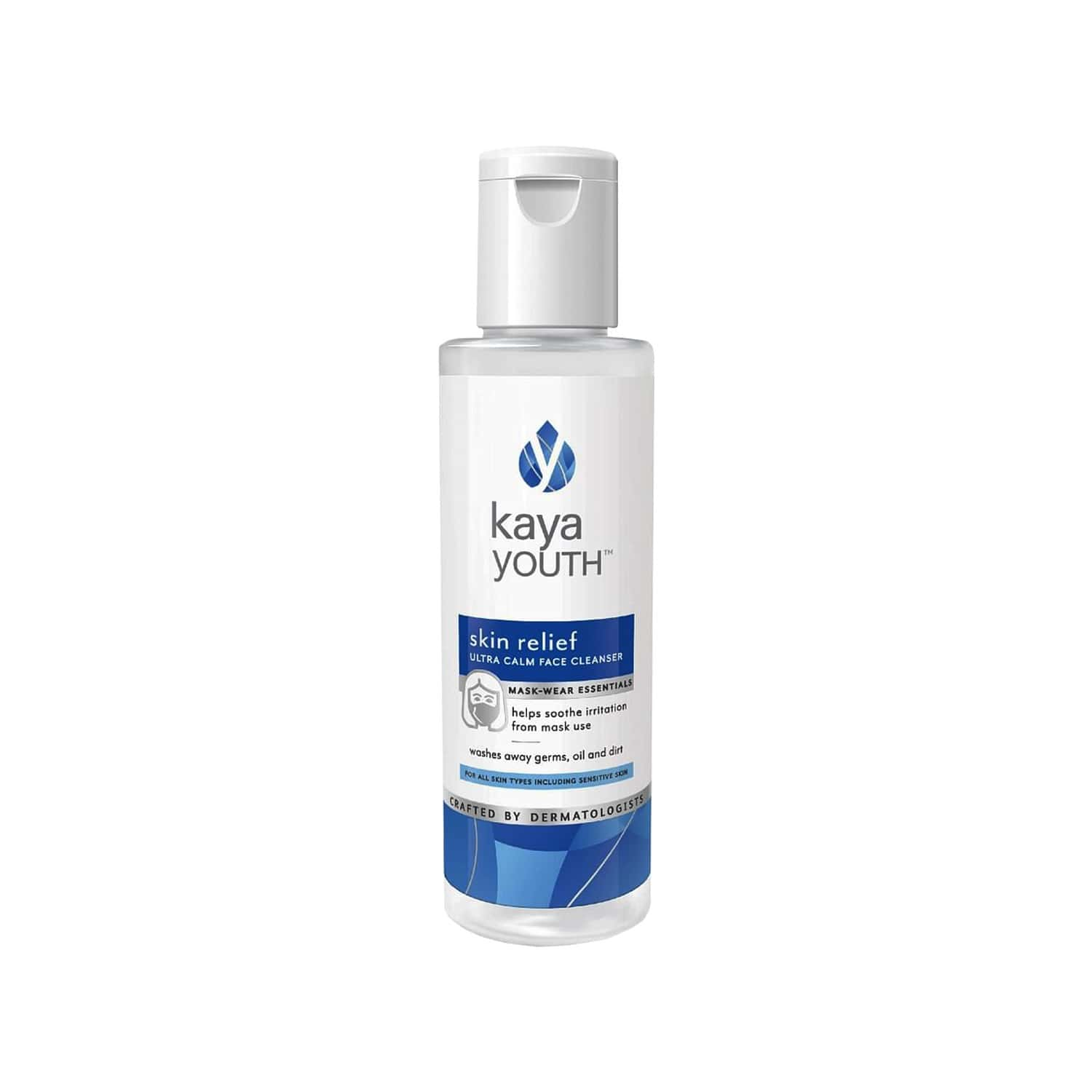 Kaya Youth Skin Relief Ultra Calm Face Cleanser-soothes Irritation From Face Masks - 95 Ml
