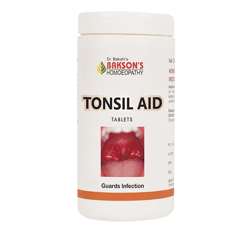 Baksons Tonsil Aid Tablet 200