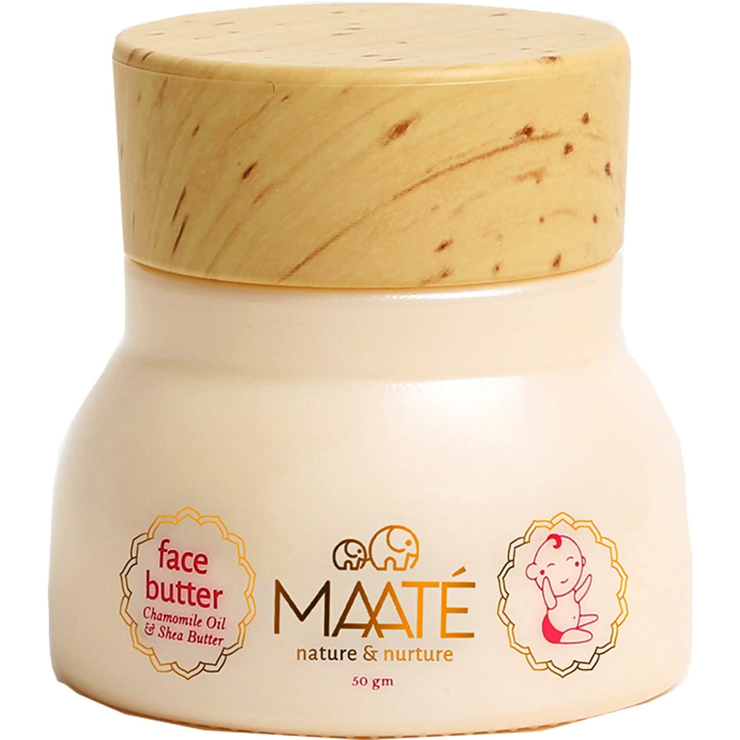 Maate Baby Face Butter Fast Absorbing Baby Face Cream - 50 Gm